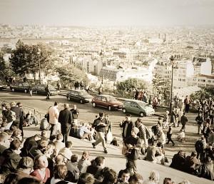 Paris, Sacré-Coeur, autumn 1992