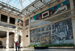Rivera murals at the DIA