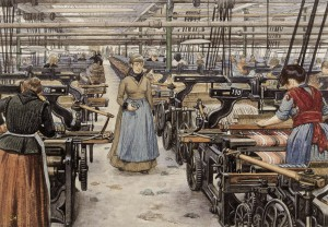 Female textile workers